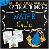 No-Prep Water Cycle