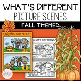 What's Different? Language Activities for Fall