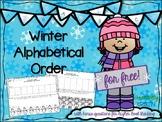 No Prep Winter ABC Order Free