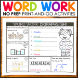 No Prep Word Work