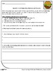 No Prep Worksheet Bundle: Grade 3 Writing Common Core 3.1