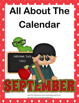 No Prep Worksheets -All About The Calendar