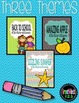 No-Prep Worksheets - Back to School, Apples, Summer