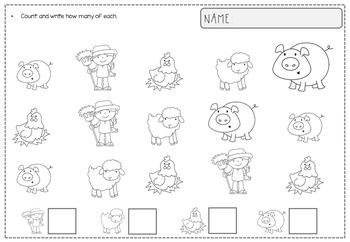 No Prep Worksheets for Fine Motor Skills {K, 1st}