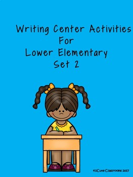 Writing Center Activity for Lower Elementary No Prep Set 2