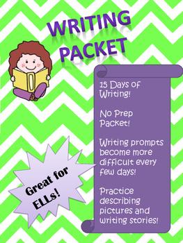 No-Prep Writing Packet