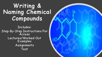 No Prep Writing and Naming Chemical Compounds