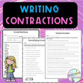 No-Prep - Writing and Using Contractions