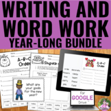 Writing and Word Work BUNDLE | Distance Learning | Google Slides™