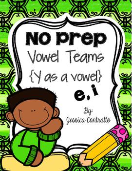 No Prep Y as a Vowel