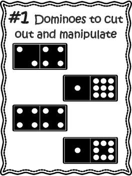 No Prep...Multiplication Dominoes...Interactive Brain Teasers