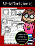 No Prep - Alphabet Tracing Worksheets