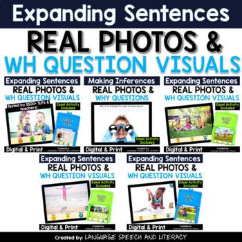 No Print 5 Fun Language Activities With Real Photos