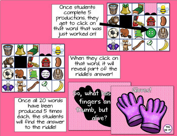 No Print Articulation Flash Cards - Early Sounds Bundle