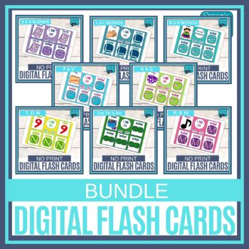 No Print Articulation Flash Cards - BUNDLE!