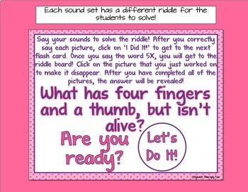 No Print Articulation Flash Cards - P, B, M