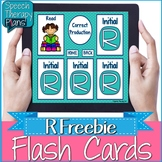 No Print Articulation Flash Cards - R Freebie