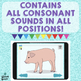 No Print Articulation Screener: All Consonant Sounds + Blends