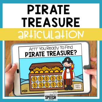 Pirate /r/ No Print Articulation Activity