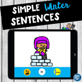 BRRR! It's Cold Outside Activity for Winter Pronouns and Verbs!  No Print