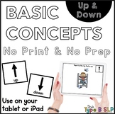 No Print Basic Concepts: Up/Down with Task Box Cards