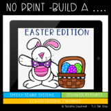 No Print Build A... : Easter Edition for Speech and Langua