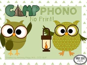 No Print Camp Phono!