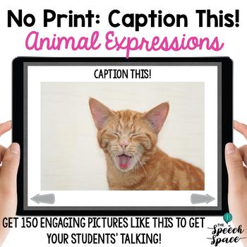 No Print: Caption This! BUNDLE