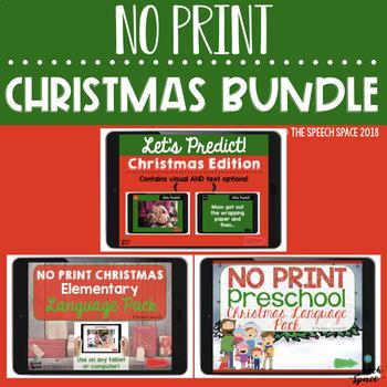 NO PRINT Christmas Bundle