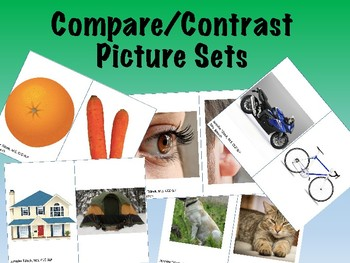 No-Print Compare/Contrast Pictures