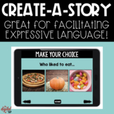 No Print: Create-A-Story | Distance Learning | Teletherapy