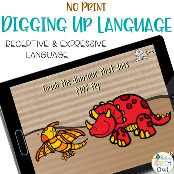No Print: Digging Up Language Skills