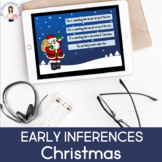 Early Inferences-Christmas (No Print) (Boom Card Lesson)