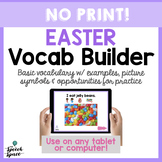 No Print Easter Vocabulary Builder
