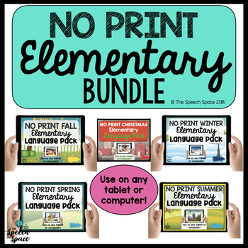 No Print Elementary Bundle