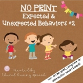 No Print Expected and Unexpected Behaviors (Second Edition