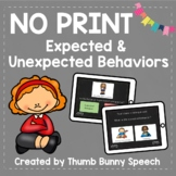 No Print - Expected and Unexpected Behaviors #1
