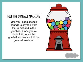 No Print Gumball Articulation - CH Sound