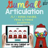 No Print Gumball Articulation - L Sound