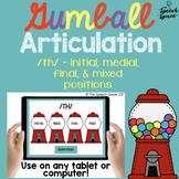 No Print Gumball Articulation - TH Sound