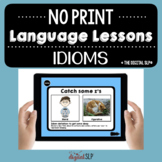 NO PRINT Idioms | Teletherapy | Distance Learning