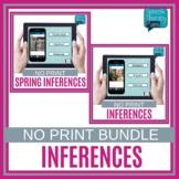 No Print Inferences Bundle   Speech Therapy   Language Activities   No Prep