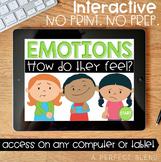 No Print Interactive Activity: Emotions