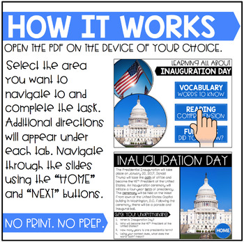 No Print Interactive Activity: Inauguration Day #kindnessnation