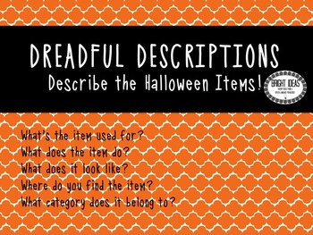 No Print Interactive Halloween Language Unit