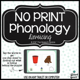 No Print Interactive Phonology: Devoicing