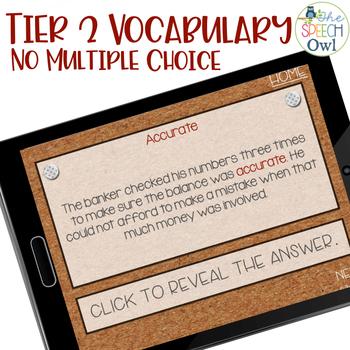 No Print Investigating Middle School Tier 2 Vocabulary: Context Clues Vol 2