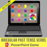No Print Irregular Past Tense Verbs PowerPoint Game