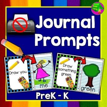No Print Journal Prompts