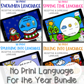 No Print Language For The Year Bundle